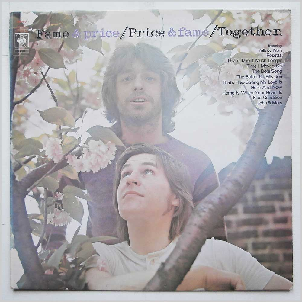 Georgie Fame and Alan Price - Fame and Price, Price and Fame: Together (CBS 64392)