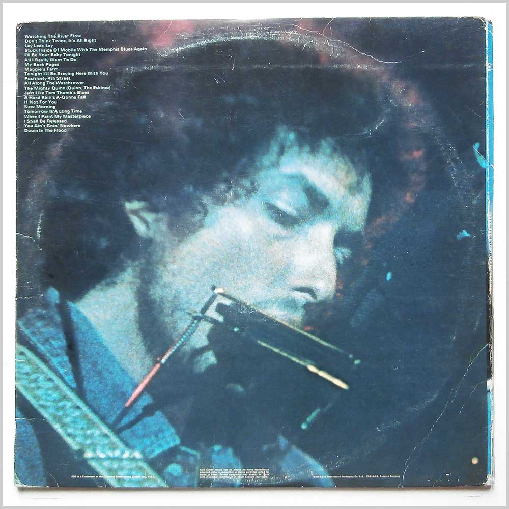 Bob Dylan - More Bob Dylan Greatest Hits (CBS 67239)