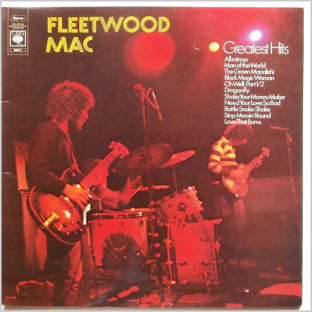 Fleetwood Mac - Greatest Hits (CBS 69011)