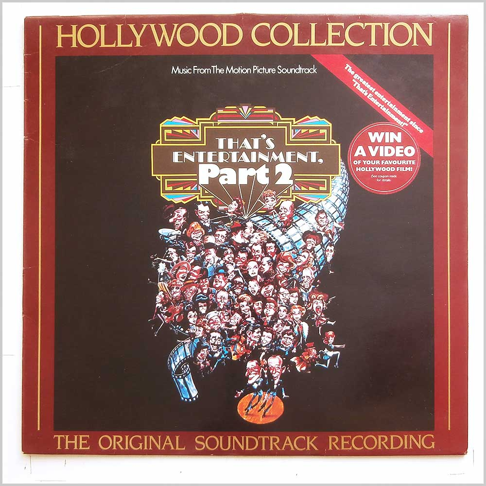 Various - Music From The Motion Picture Soundtrack: That's Entertainment Part 2 (CBS 70280)