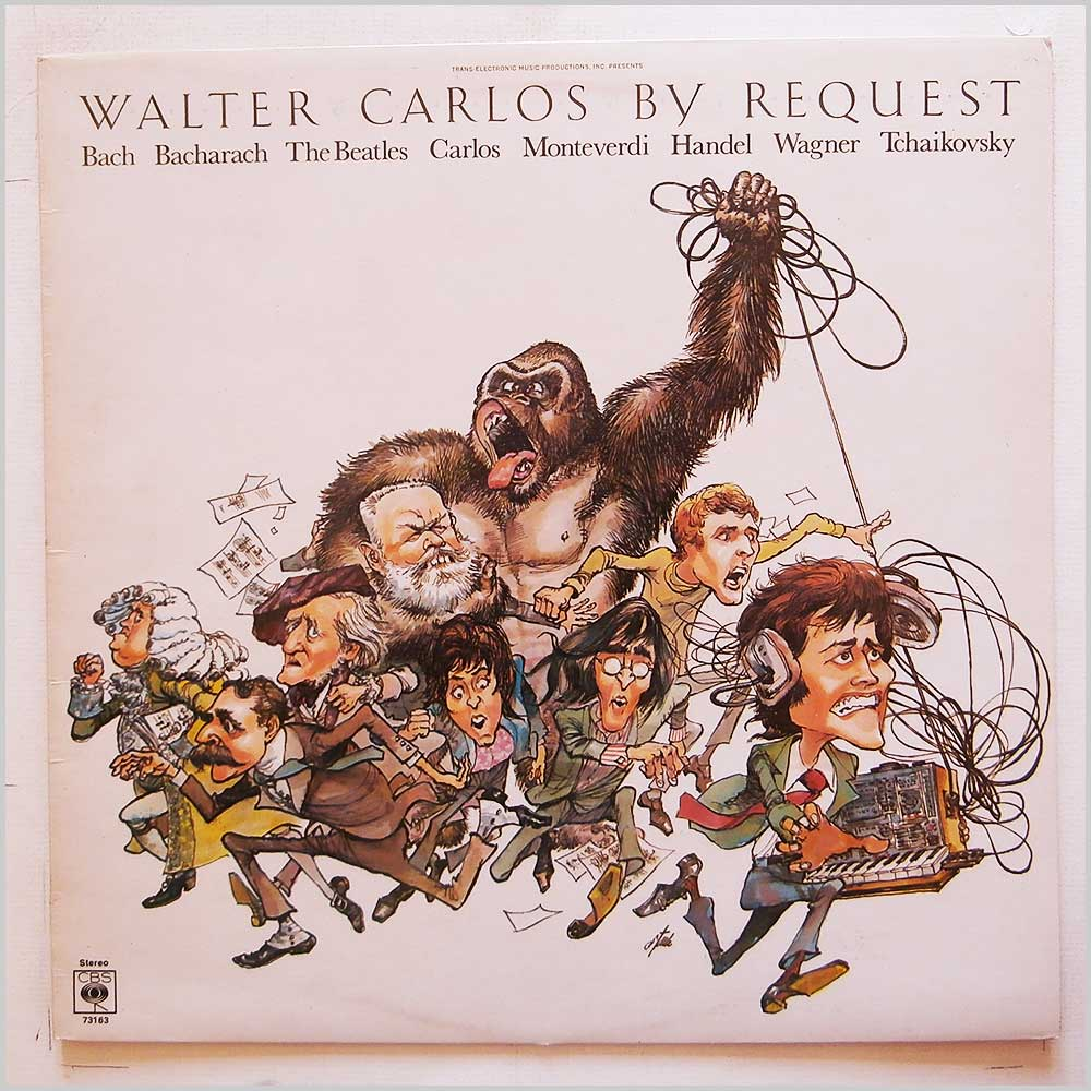 Walter Carlos - By Request (CBS 73163)