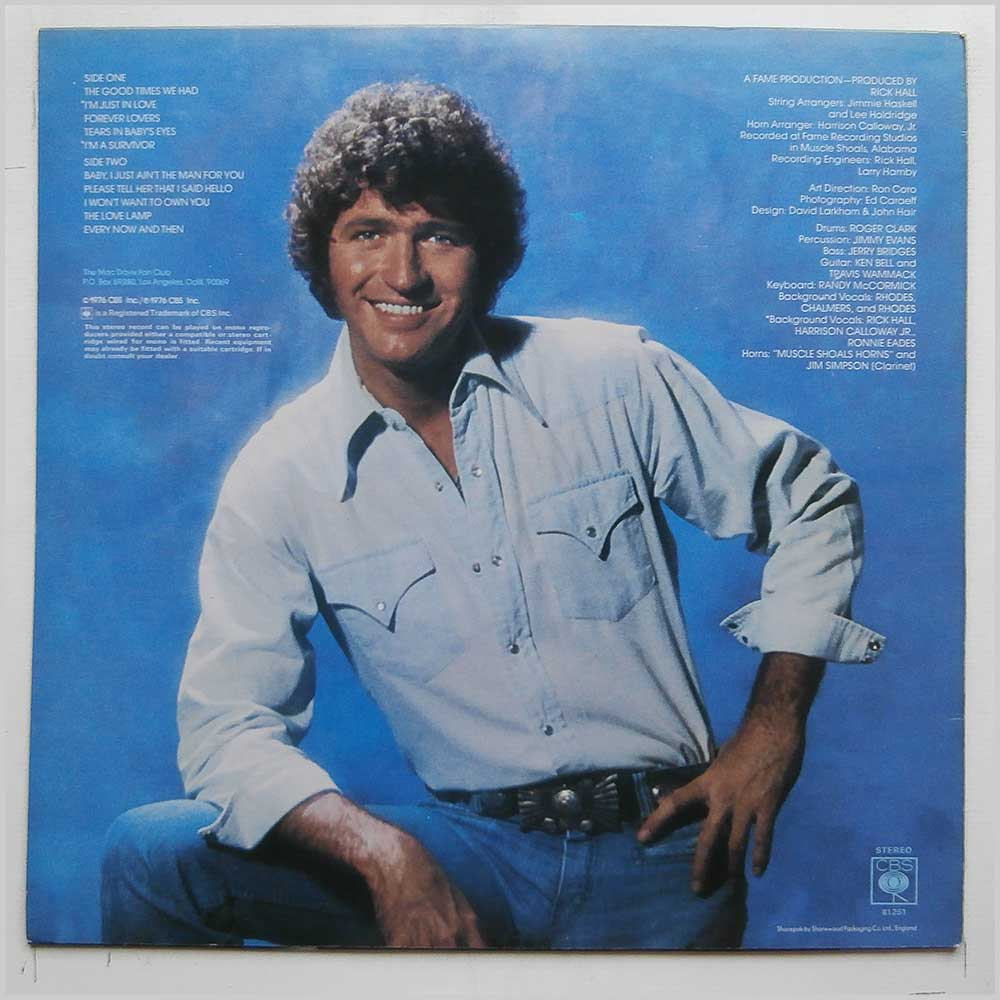 Mac Davis - Forever Lovers (CBS 81251)