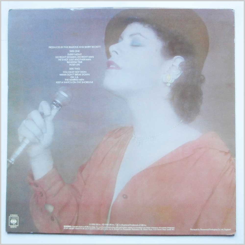 Phoebe Snow - Against The Grain (CBS 82915)