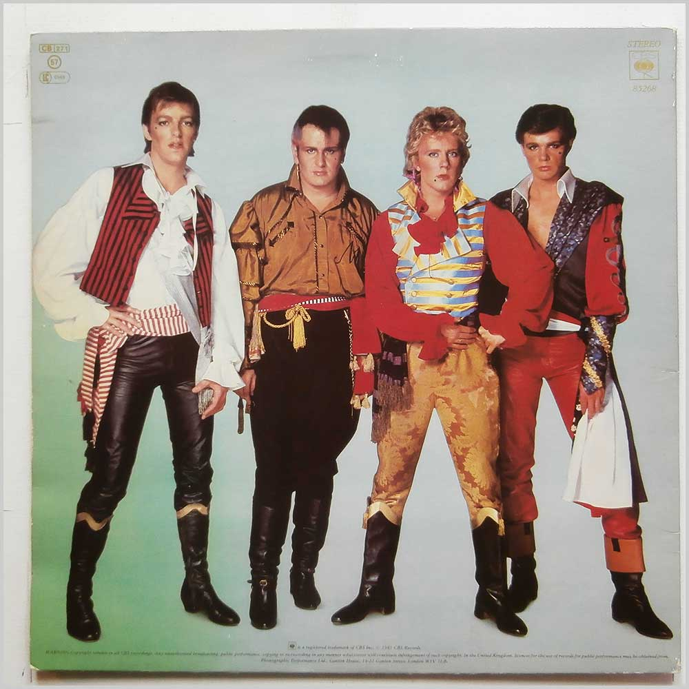 Adam and The Ants - Prince Charming (CBS 85268)