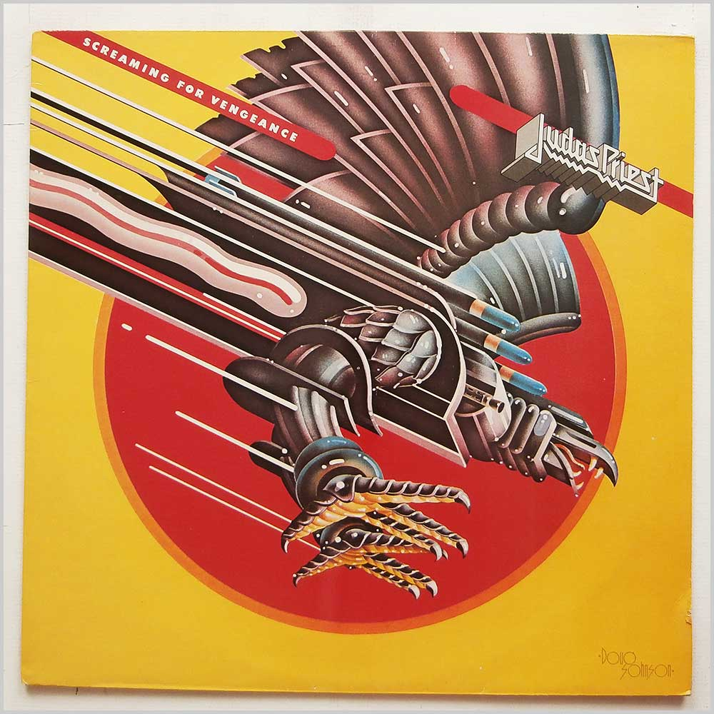 Judas Priest - Screaming For Vengeance (CBS 85941)