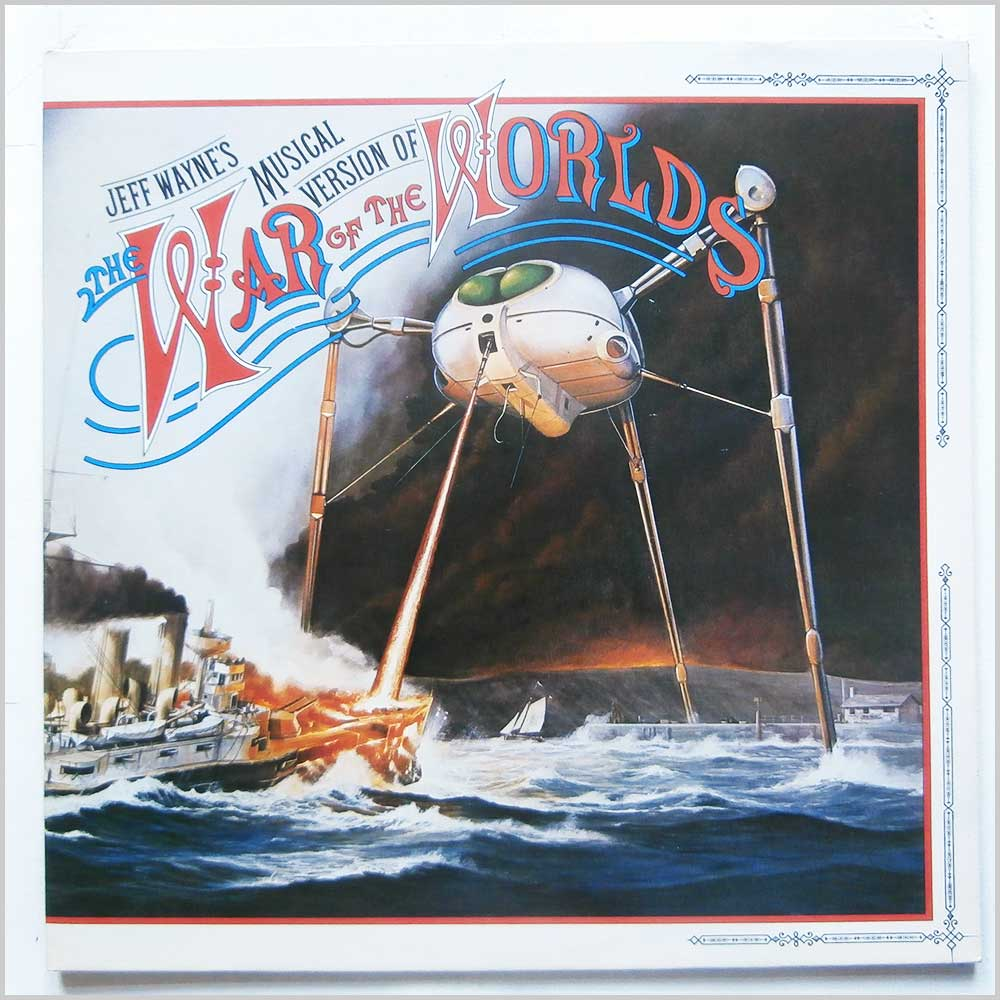 Jeff Wayne - Jeff Wayne's Musical Version Of The War Of The Worlds (CBS 96000)
