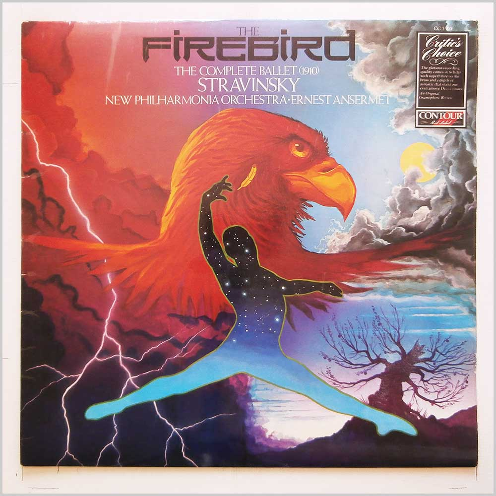 Ernest Ansermet, New Philharmonia Orchestra - Stravinksy: The Firebird: The Complete Ballet (1910) (CC 7500)