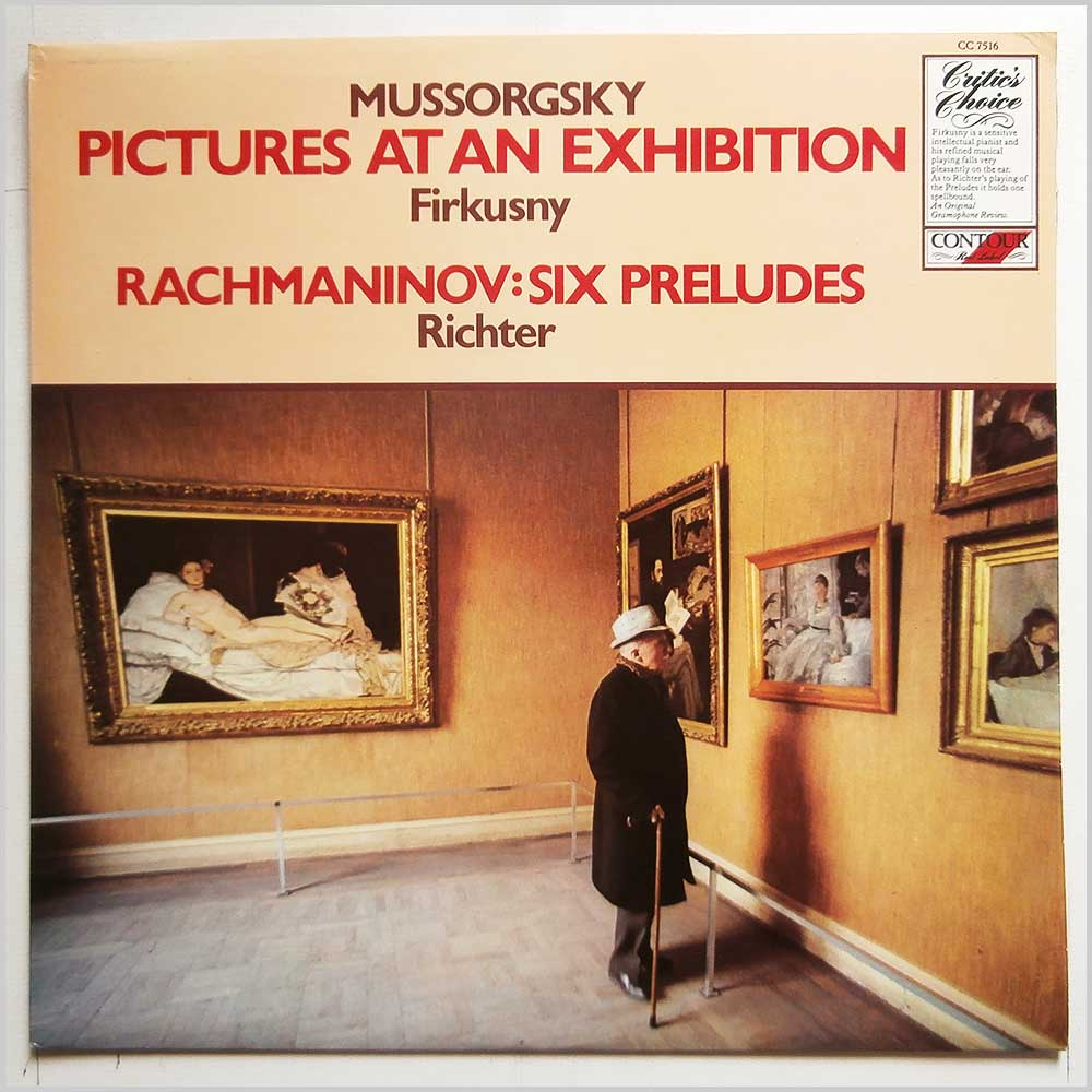 Rudolph Firkusny, Sviatoslav Richter - Mussorgsky: Pictures At An Exhibition, Rachmaninov: Six Preludes (CC 7516)