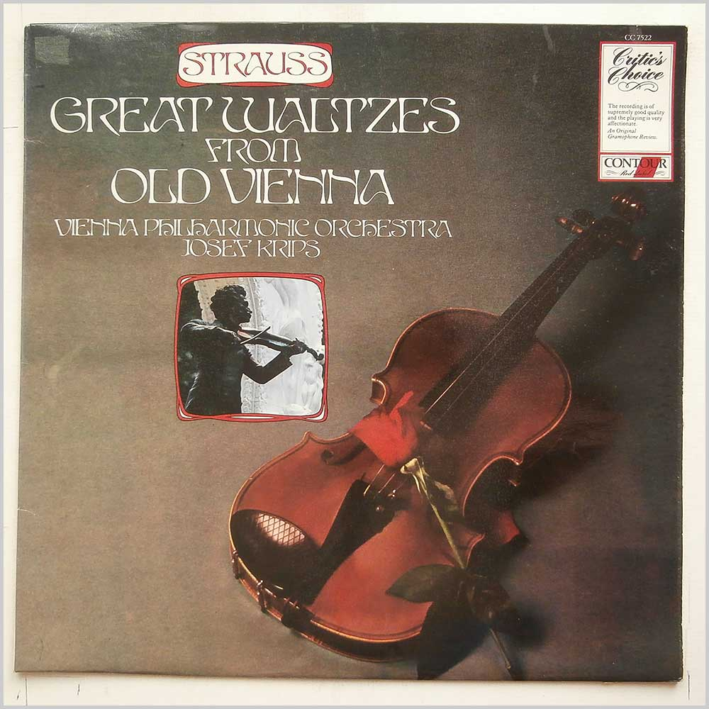 Josef Krips, Vienna Philharmonic Orchestra - Strauss: Great Waltzes From Old Vienna (CC 7522)