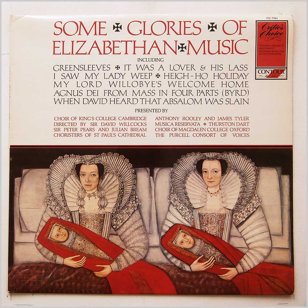 Choir Of Kings College Cambridge - Some Glories Of Elizabethan Music (CC 7561)