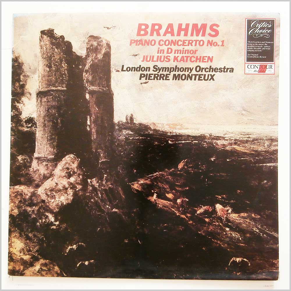 Julius Katchen, Pierre Monteux, London Symphony Orchestra - Brahms: Piano Concerto No.1 in D Minor (CC 7587)