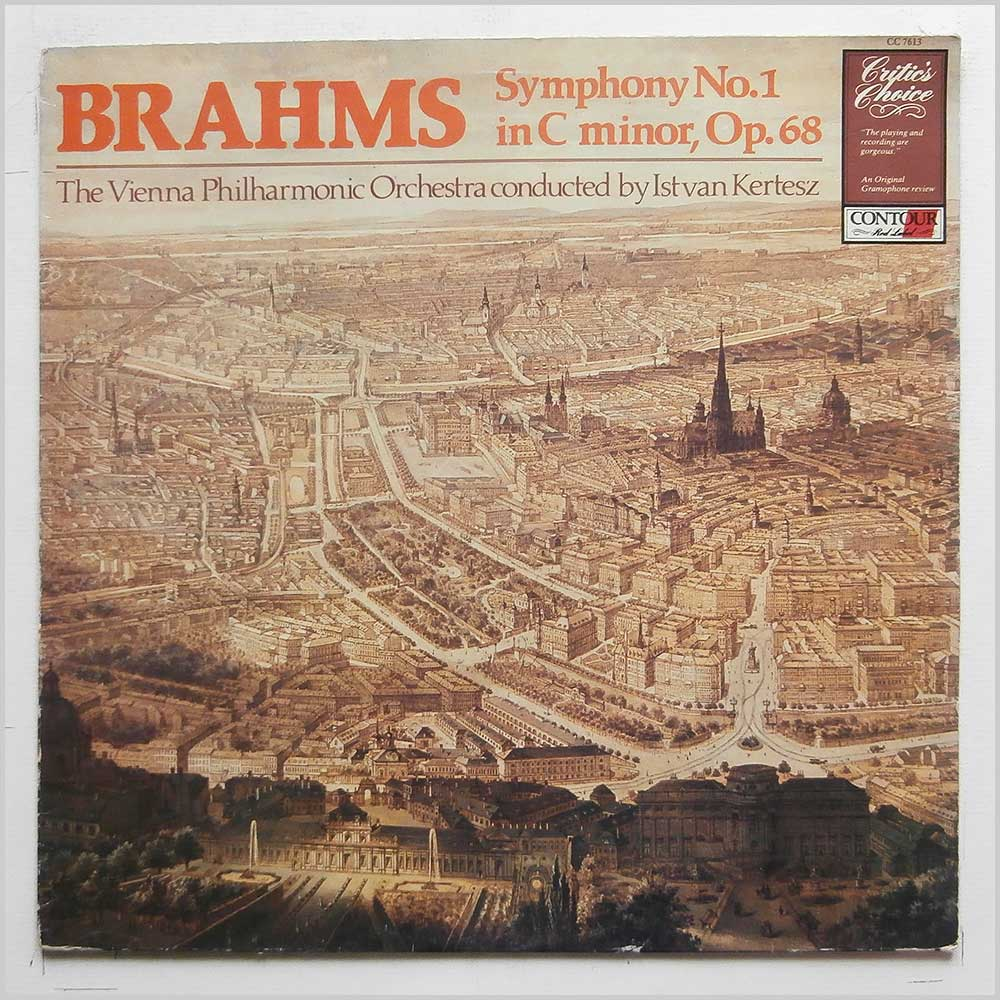 Istvan Kertesz, The Vienna Philharmonic Orchestra - Brahms: Symphony No. 1 in C Minor (CC 7613)
