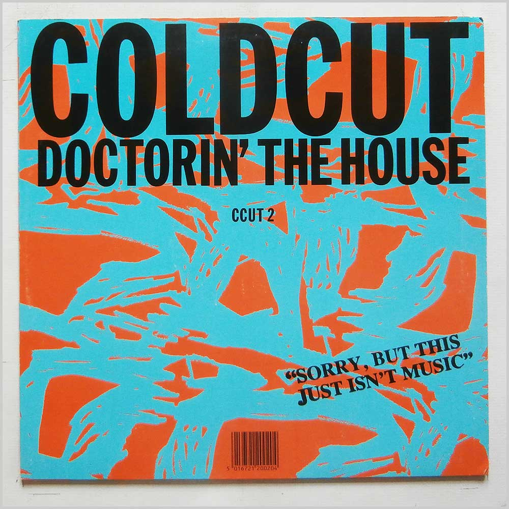 Coldcut - Doctorin' The House (CCUT 2)