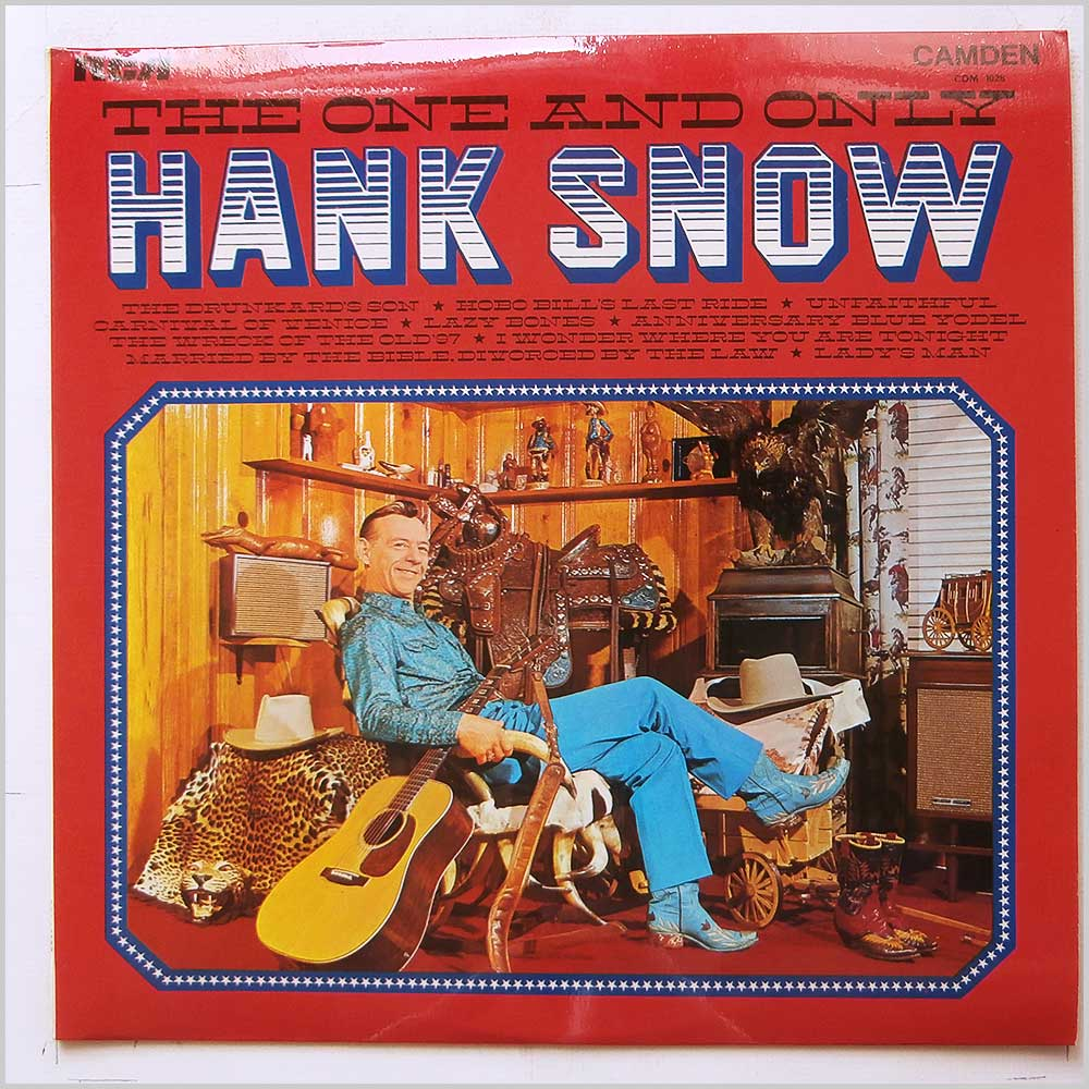 Hank Snow - The One and Only Hank Snow (CDM 1026)