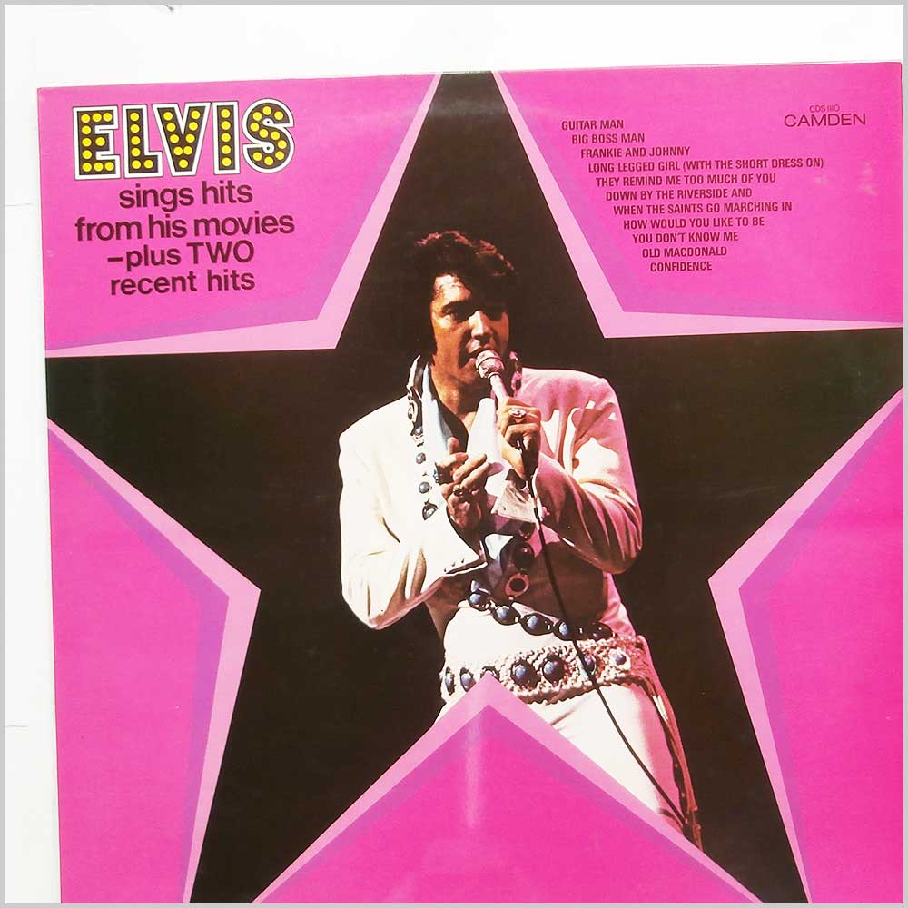 Elvis Presley - Elvis Sings Hits From His Movies (CDS 1110)