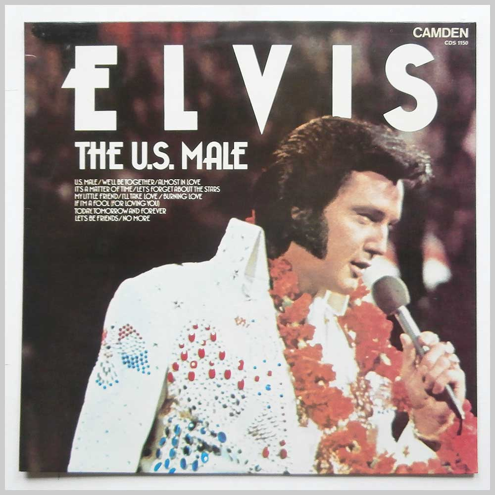 Elvis Presley - The U.S. Male (CDS 1150)