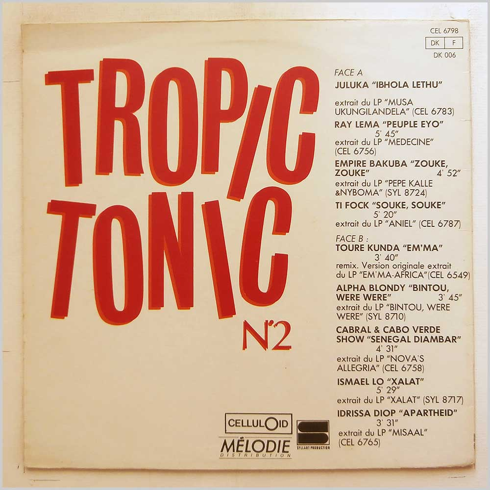 Various - Tropic Tonic N. 2 (CEL 6798)