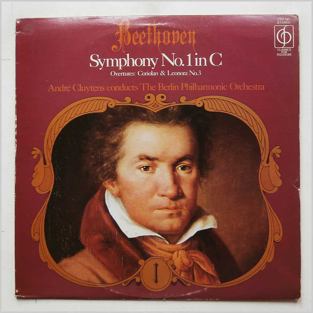 Andre Cluytens, Berlin Philharmonic Orchestra - Beethoven: Symphony No.1 in C (CFP 187)