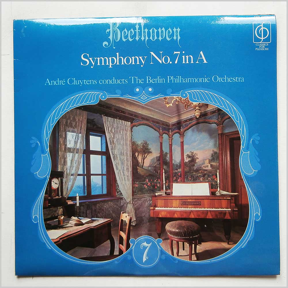 Andre Cluytens, Berlin Philharmonic Orchestra - Beethoven: Symphony No. 7 in A (CFP 40018)