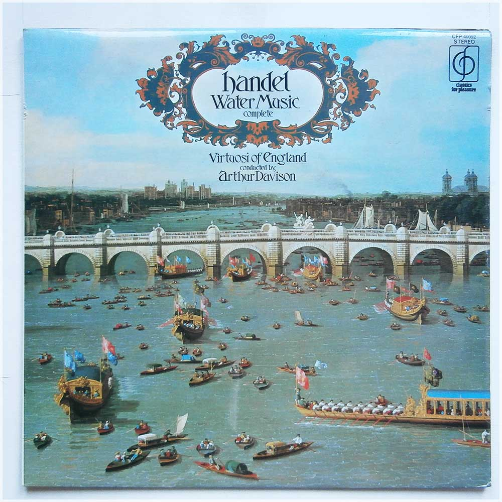Virtuosi Of England - Handel Water Music (Complete) (CFP 40092)