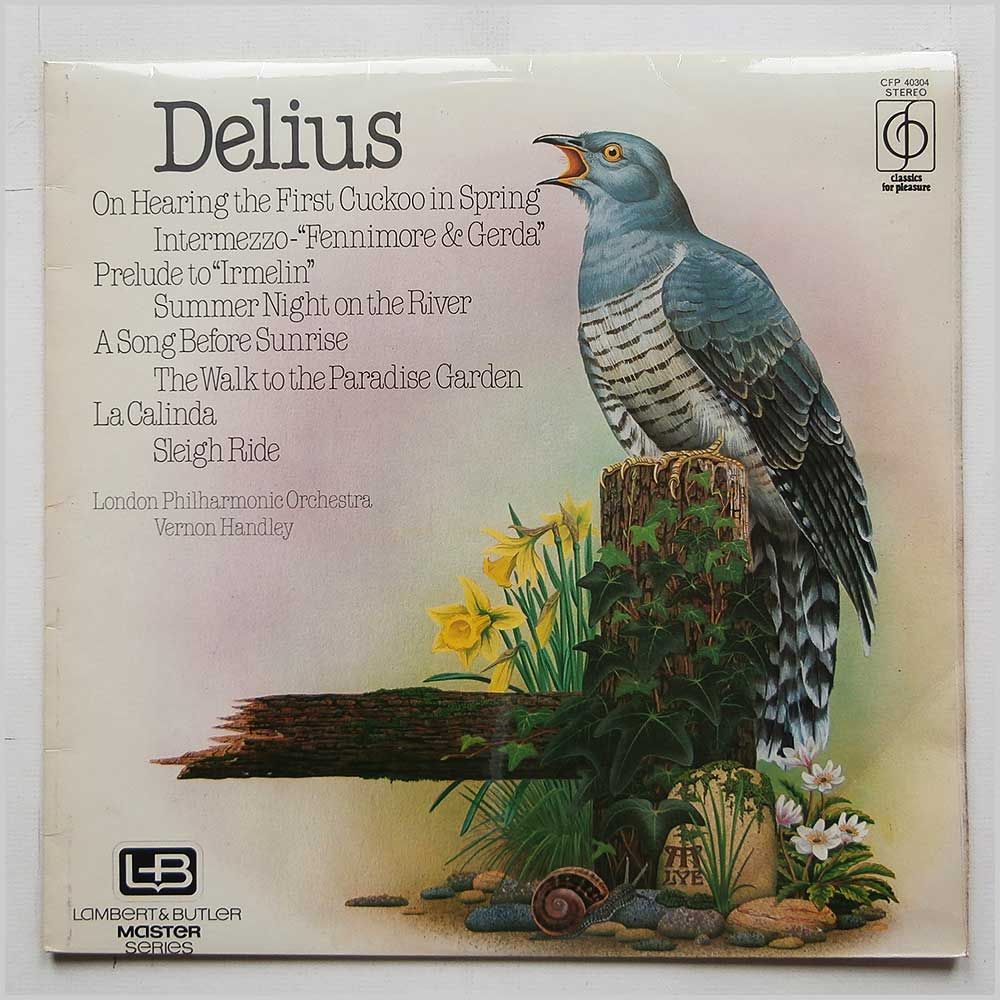 Vernon Handley, London Philharmonic Orchestra - Delius: Orchestral Works (CFP 40304)