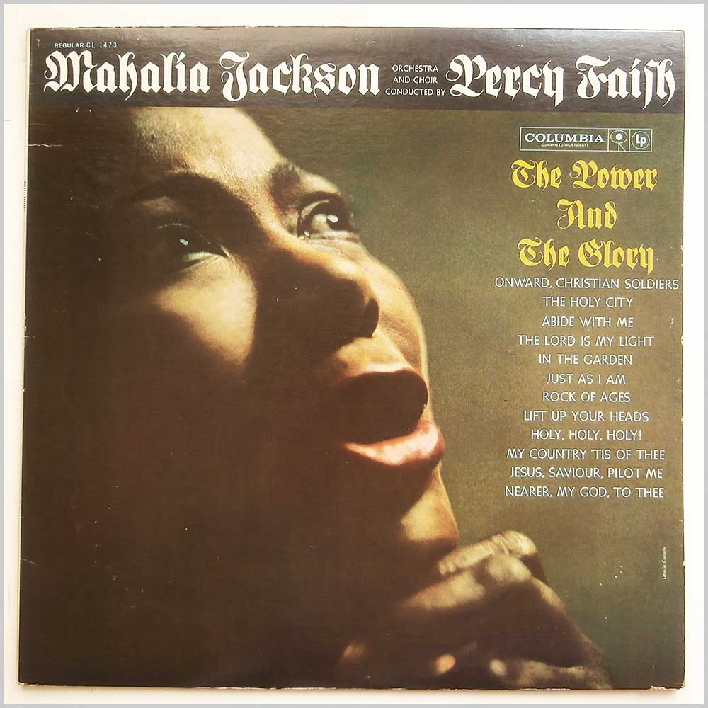 Mahalia Jackson - The Power And The Glory (CL 1473)