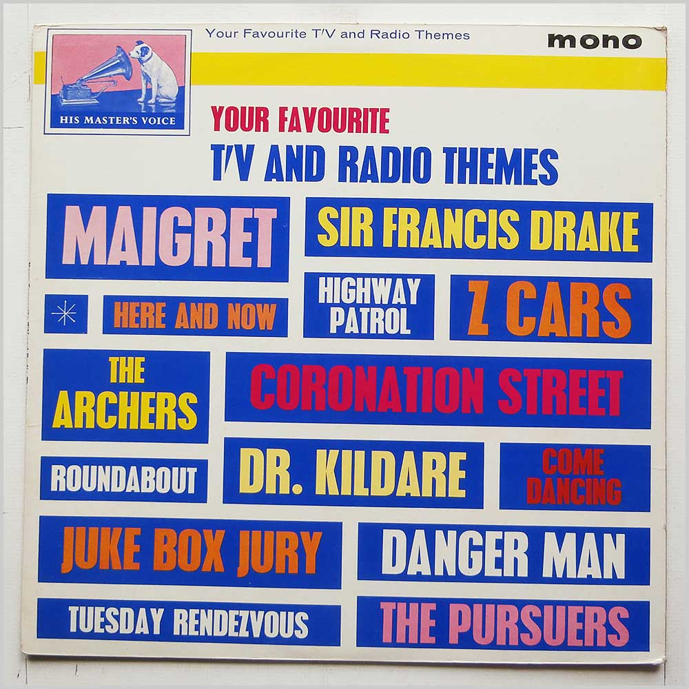 Various - Your Favourite TV and Radio Themes (CLP 1565)