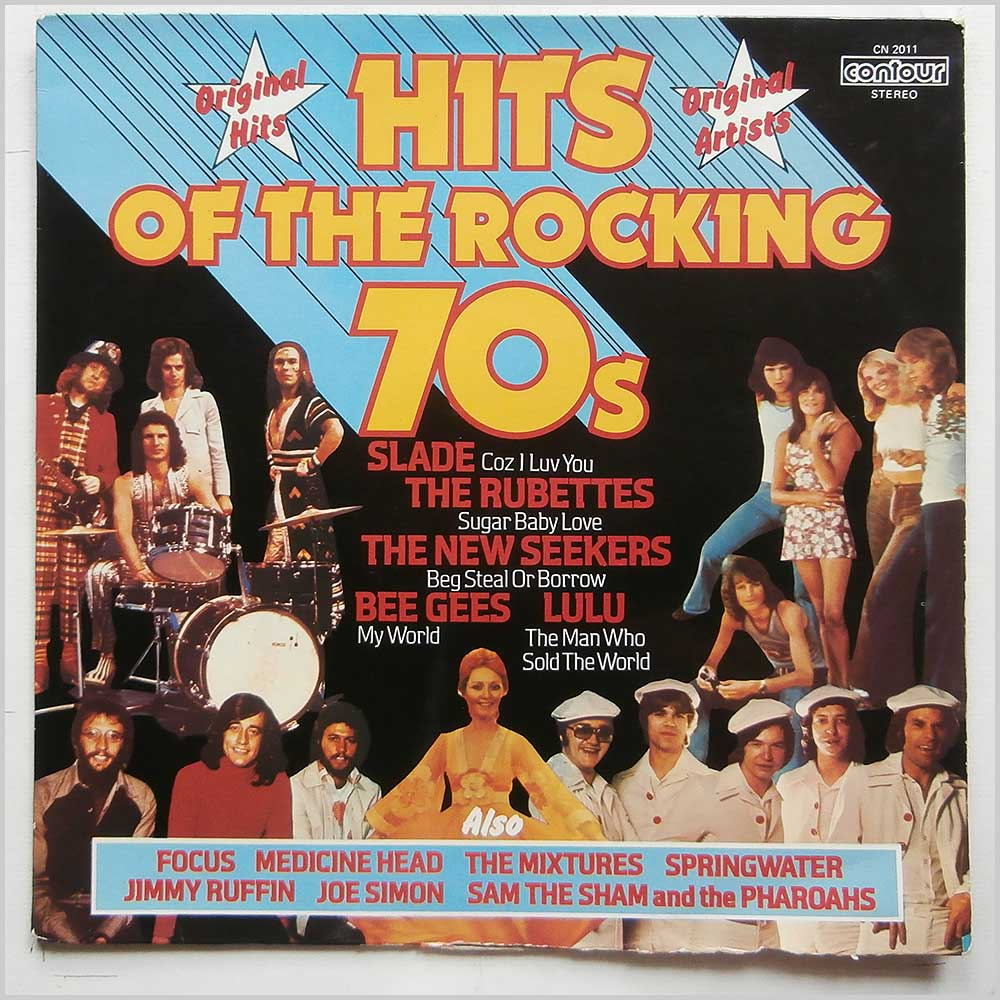 Various - Hits Of The Rocking 70's (CN 2011)