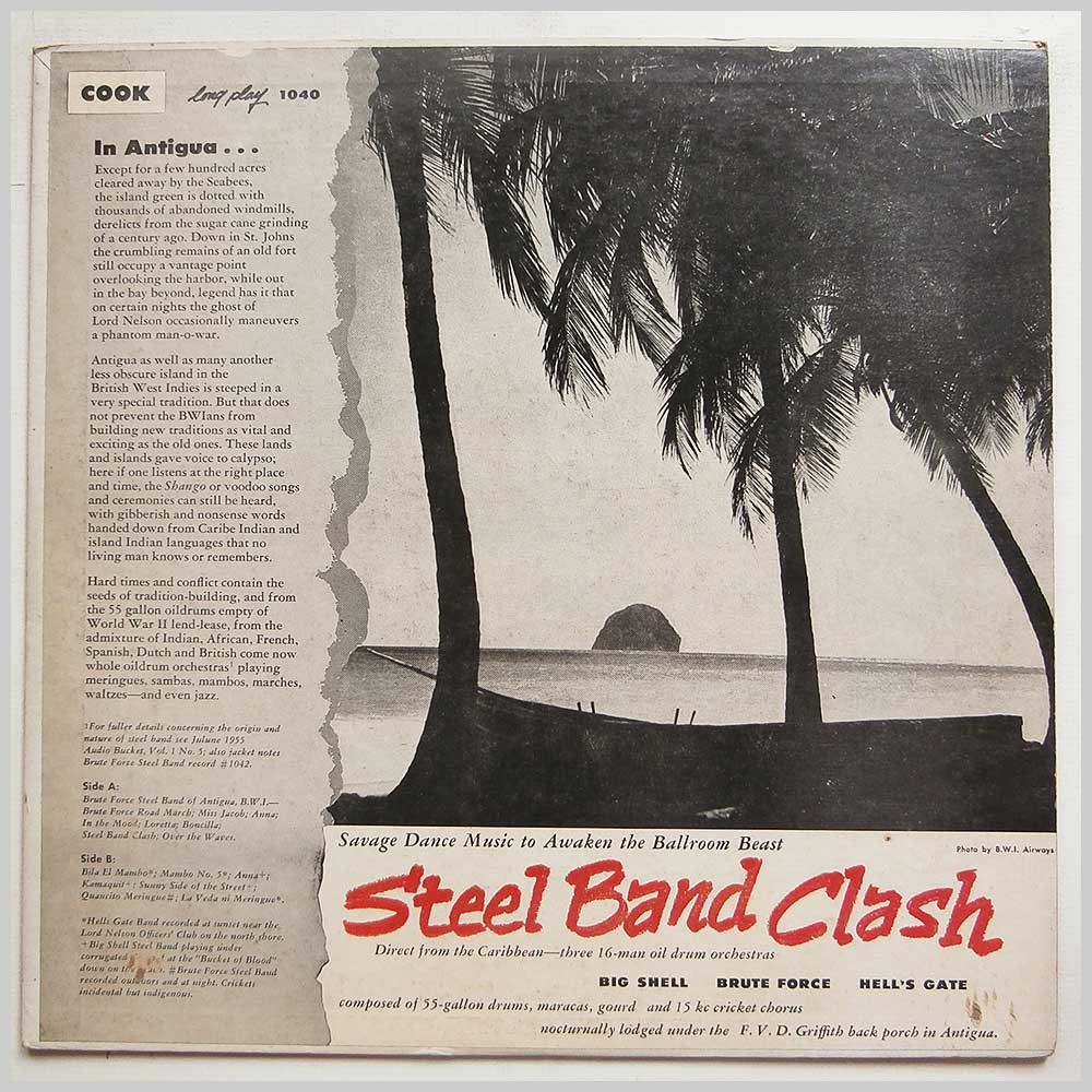 Various - Steel Band Clash: Savage Dance Music To Awaken The Ballroom Beast (COOK 1040)