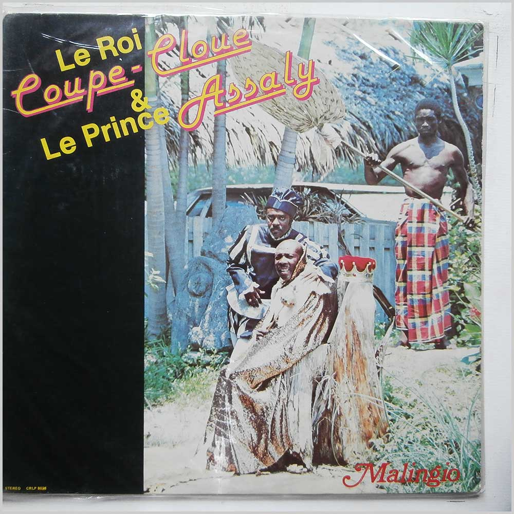 Le Roi Coupe-Cloue and Le Prince Assaly - Malingio (CRLP 8026)