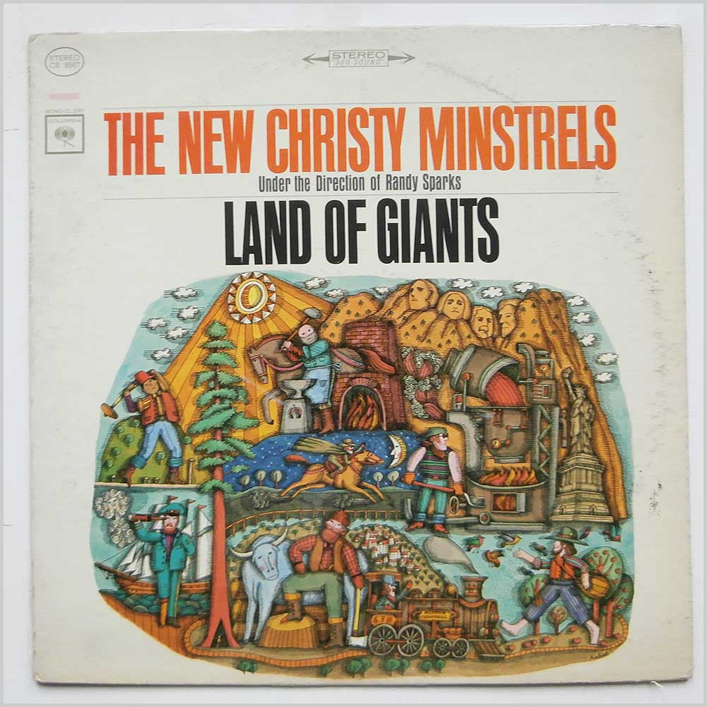 The New Christy Minstrels - Land Of Giants (CS 8987)