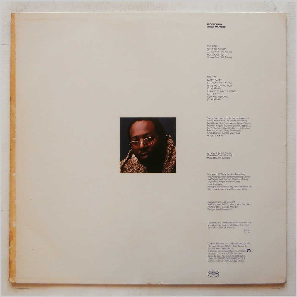 Curtis Mayfield - Do It All Night (CUK 5022)