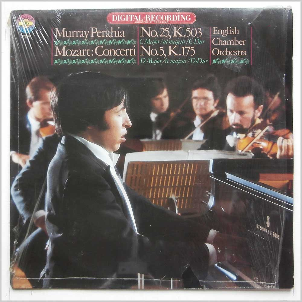 Murray Perahia, English Chamber Orchestra - Mozart: Piano Concertos Nos.5 and 25 (D 37267)