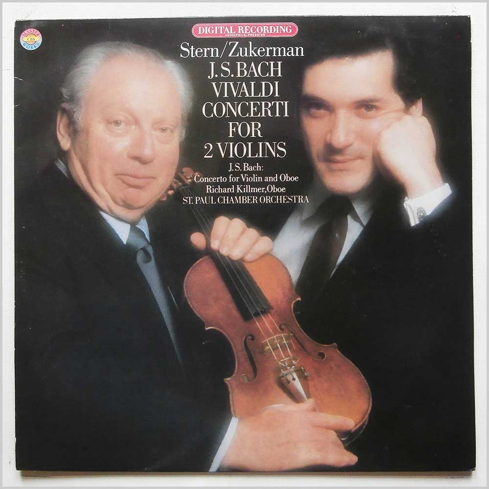 Isaac Stern, Pinchas Zukerman, St. Paul Chamber Orchestra - J.S. Bach, Vivaldi: Concerti For 2 Violins (D 37278)