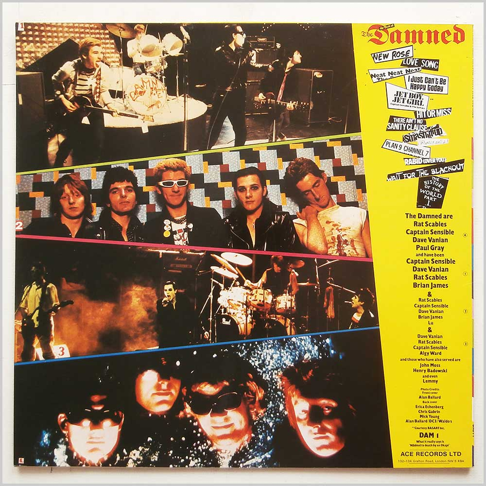 The Damned - Another Great Record From The Damned: The Best Of The Damned (DAM 1)