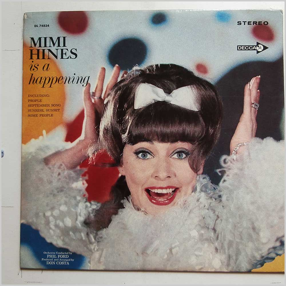 Mimi Hines - Mimi Hines Is A Happening (DL 74834)
