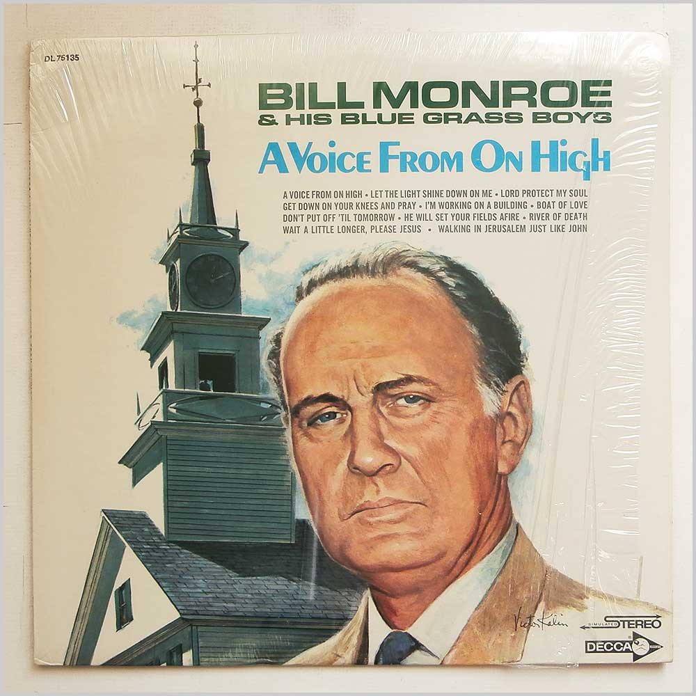 Bill Monroe and His Blue Grass Boys - A Voice From On High (DL 75135)