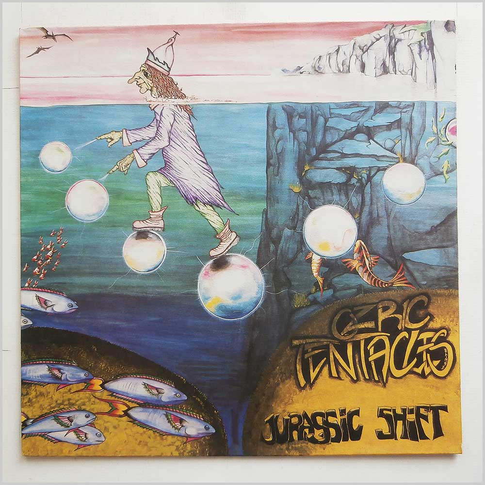 Ozric Tentacles - Jurassic Shift (DOVE LP 6)