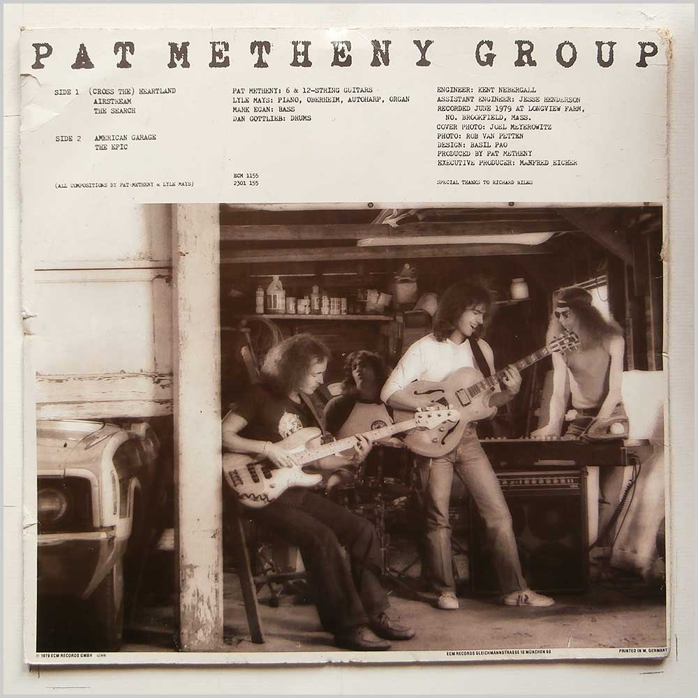 Pat Metheny Group - American Garage (ECM 1155)