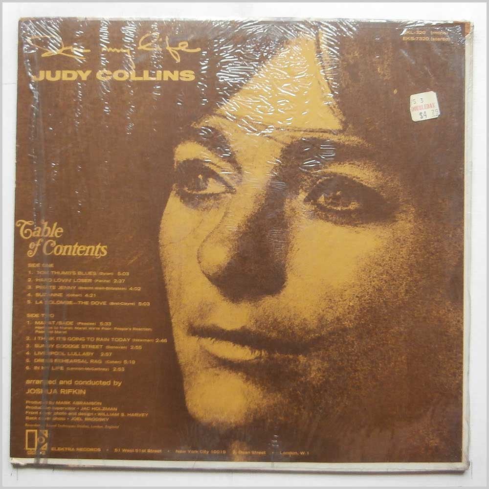 Judy Collins - In My Life (EKL-320)