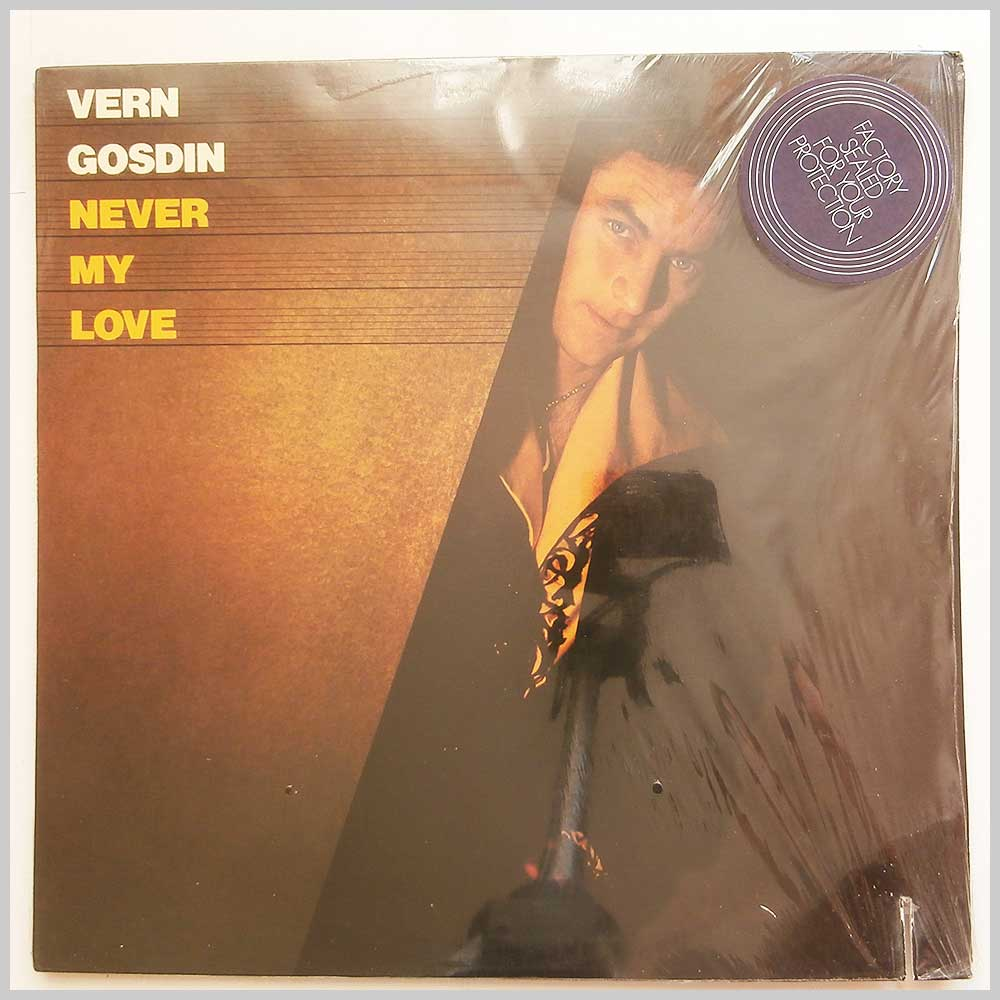 Vern Gosdin - Never My Love (ELEKTRA 6E-124)