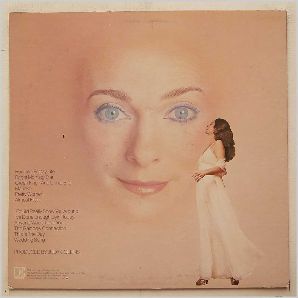 Judy Collins - Running For My Life (ELEKTRA 6E-253)