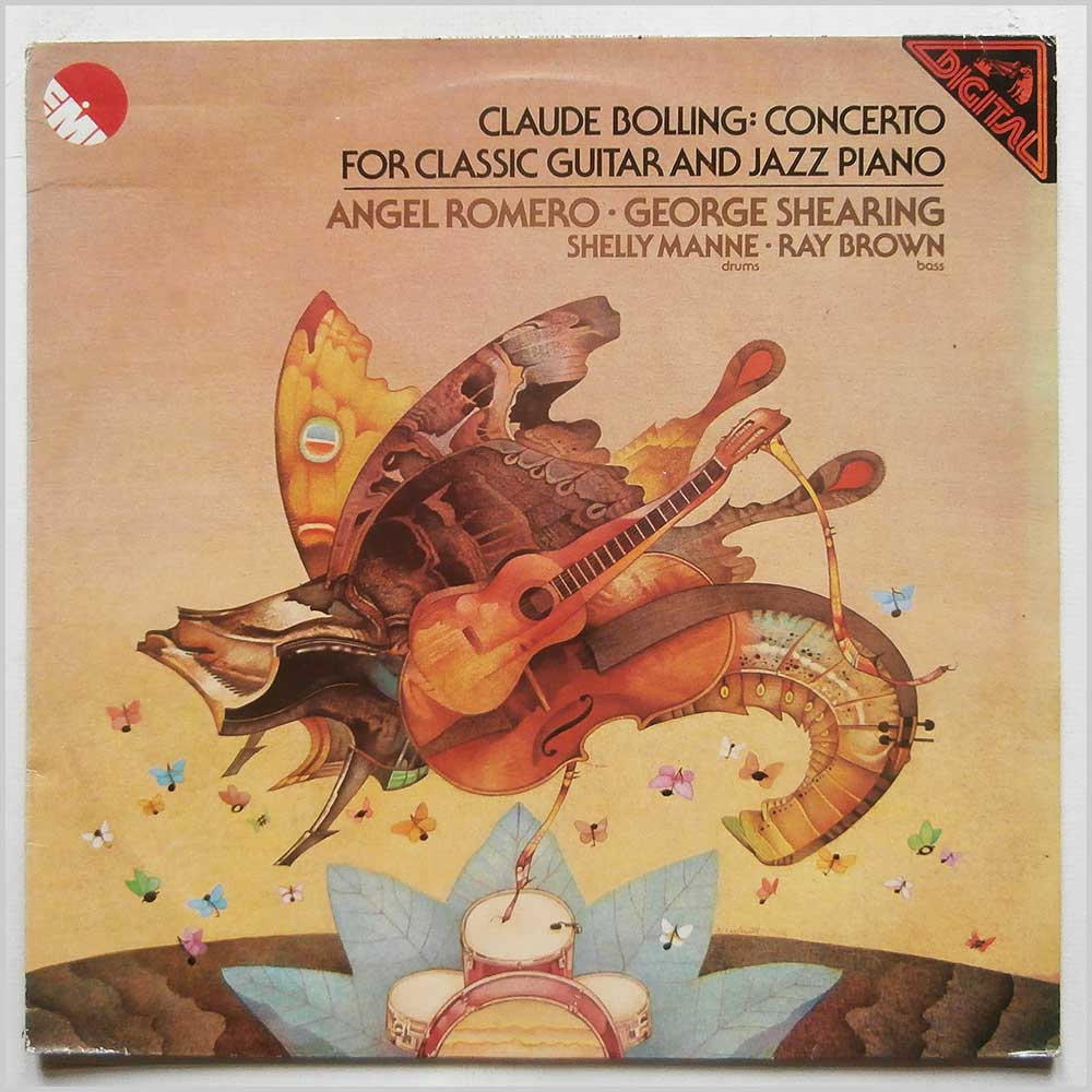 Angel Romero, George Shearing, Shelly Manne, Ray Brown - Claude Bolling: Concerto For Classic Guitar And Piano (EMD 3555)