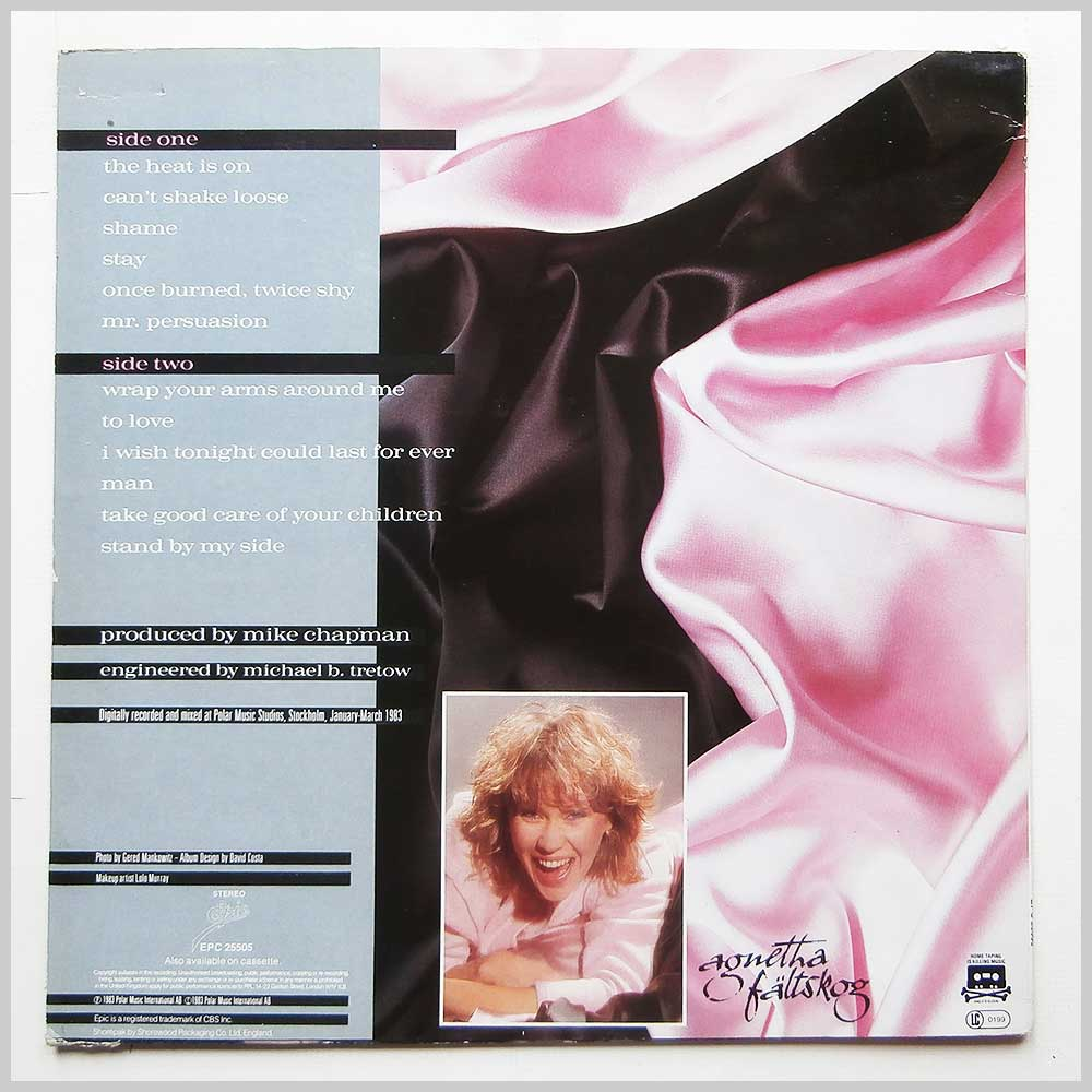 Agnetha Faltskog - Wrap Your Arms Around Me (EPC 25505)