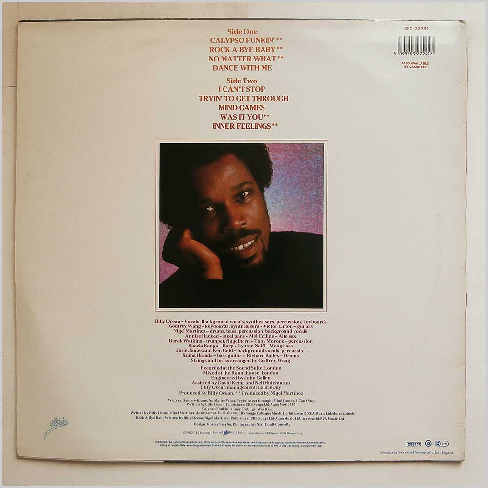 Billy Ocean - Inner Feelings (EPC 32794)