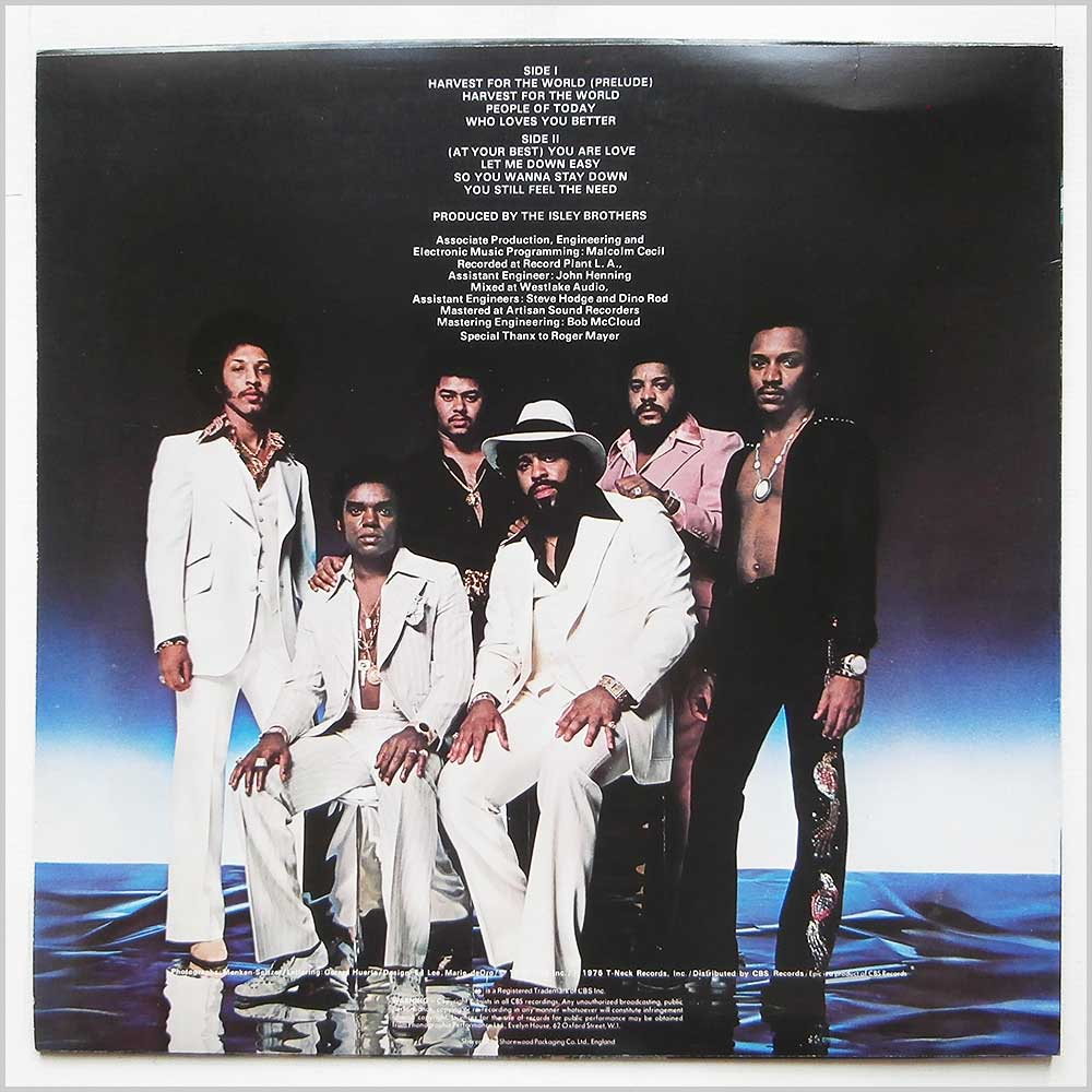 The Isley Brothers - Harvest For The World (EPC 81268)