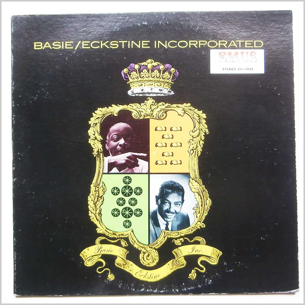Count Basie and Billy Eckstine - Basie/Eckstine Incorporated (ES-12022)