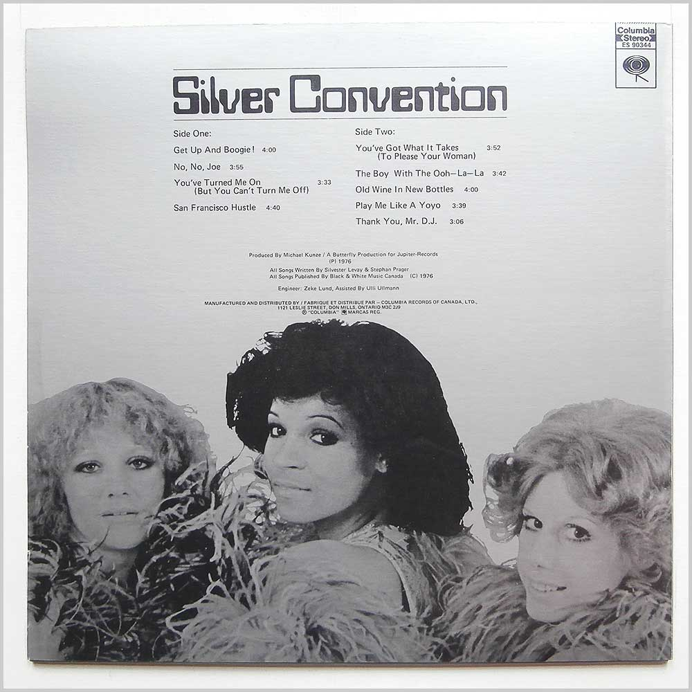 Silver Convention - Get Up And Boogie! (ES 90344)