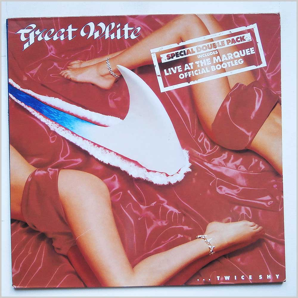 Great White - Twice Shy + Live At The Marquee (ESTS 2096)