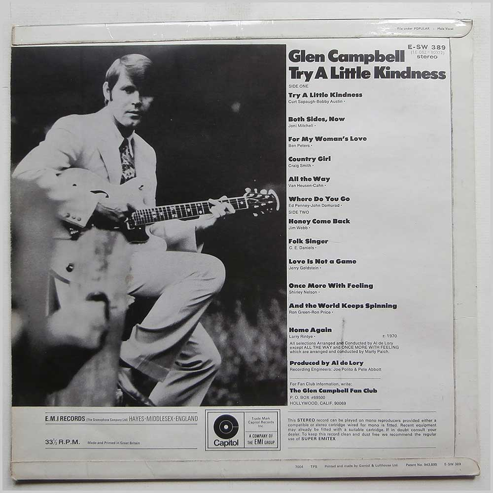 Glen Campbell - Try A Little Kindness (E-SW 389)